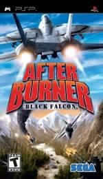 Hra pre PSP After Burner: Black Falcon