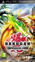 Hra pre PSP Bakugan: Battle Brawlers - Defenders of the Core dupl