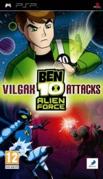 Hra pre PSP Ben 10: Alien Force - Vilgax Attacks