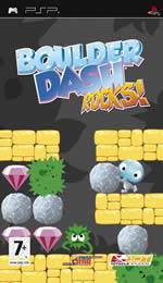 Hra pre PSP Boulder Dash Rock!