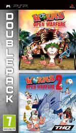 Hra pre PSP Double Pack: Worms: Open Warfare + Worms: Open Warfare 2