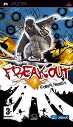 Hra pre PSP Freak Out: Extreme Freeride