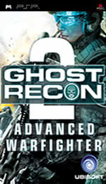 Hra pre PSP Tom Clancys Ghost Recon: Advanced Warfighter 2