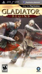 Hra pre PSP Gladiator Begins