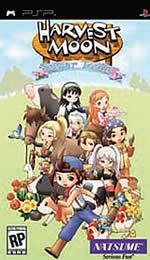 Hra pre PSP Harvest Moon: Hero of Leaf Valley