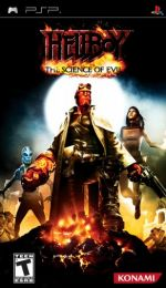 Hra pre PSP Hellboy: The Science of Evil