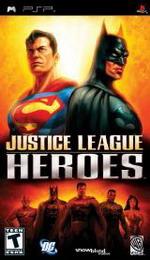 Hra pre PSP Justice League Heroes