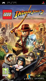 Hra pre PSP LEGO: Indiana Jones 2 - The Adventure Continues