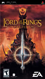 Hra pre PSP The Lord of the Rings: Tactics