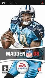 Hra pre PSP Madden NFL 08