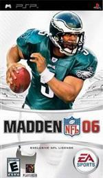 Hra pre PSP Madden NFL 06