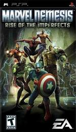 Hra pre PSP Marvel Nemesis: Rise of the Imperfects
