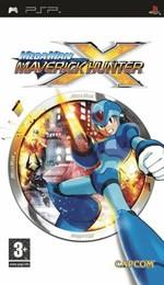 Hra pre PSP Mega Man Maverick Hunter X