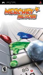 Hra pre PSP Mercury Meltdown