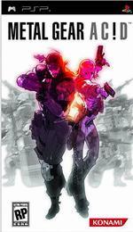 Hra pre PSP Metal Gear Acid