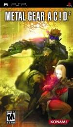 Hra pre PSP Metal Gear Acid 2