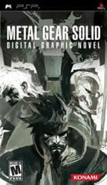 Hra pre PSP Metal Gear Solid: Digital Graphic Novel