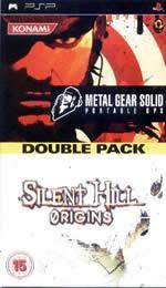 Hra pre PSP MGS: Portable + Silent Hill: Origins