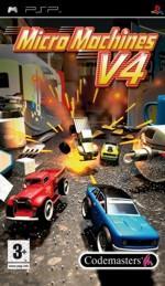 Hra pre PSP Micro Machines V4