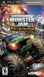 Hra pre PSP Monster Jam: Path of Destruction