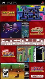 Hra pre PSP Namco Museum Battle Collection