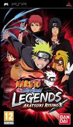 Hra pre PSP Naruto Shippuden: Legends - Akatsuki Rising