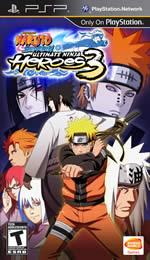 Hra pre PSP Naruto: Ultimate Ninja Heroes 3