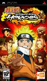 Hra pre PSP Naruto: Ultimate Ninja Heroes
