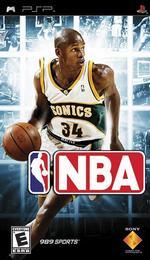 Hra pre PSP NBA