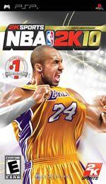 Hra pre PSP NBA 2K10