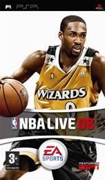Hra pre PSP NBA Live 08