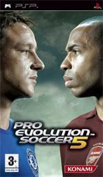 Hra pre PSP Pro Evolution Soccer 5