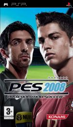 Hra pre PSP Pro Evolution Soccer 2008
