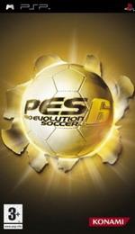 Hra pre PSP Pro Evolution Soccer 6