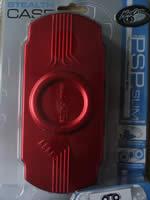 Príslušenstvo pre PSP Viaceúčelové púzdro pre PSP Slim (červené)