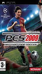 Hra pre PSP Pro Evolution Soccer 2009