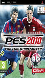 Hra pre PSP Pro Evolution Soccer 2010