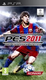 Hra pre PSP Pro Evolution Soccer 2011