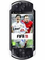 Príslušenstvo pre PSP Konzola Sony PSP-3004 (čierna) + FIFA 11