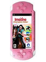 Príslušenstvo pre PSP Konzola Sony PSP-3004 (ružová) + Imagine Champion Rider