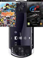 Príslušenstvo pre PSP Konzola Sony PSP-3004 (čierna) + ModNation Racers + Gran Turismo
