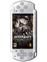 Príslušenstvo pre PSP Konzola Sony PSP-3004 (strieborná) + Resistance Retribution