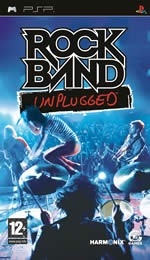 Hra pre PSP Rock Band: Unplugged
