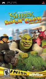 Hra pre PSP Shrek Smash N Crash Racing