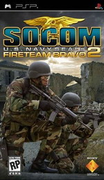 Hra pre PSP SOCOM: U.S. Navy SEALs Fireteam Bravo 2 + headset