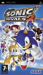 Hra pre PSP Sonic Rivals 2