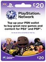 Príslušenstvo pre Playstation 3 Sony Playstation Network Card - 20 libier (PS3/PSP)