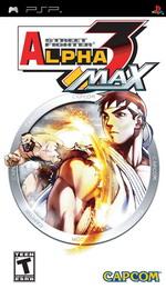 Hra pre PSP Street Fighter Alpha 3 Max