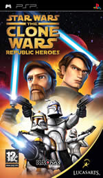 Hra pre PSP Star Wars: The Clone Wars - Republic Heroes