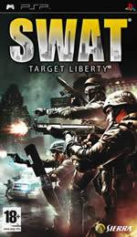 Hra pre PSP SWAT: Target Liberty